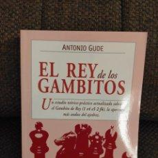 Collectionnisme sportif: EL REY DE LOS GAMBITOS GUDE. Lote 236074615