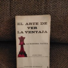 Colecionismo desportivo: EL ARTE DE VER LA VENTAJA POMAR AJEDREZ. Lote 236074900