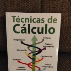 Collectionnisme sportif: TÉCNICAS DE CÁLCULO AAGRAD CHESSY AJEDREZ. Lote 236075090