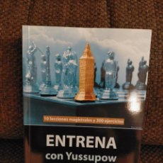 Collectionnisme sportif: ENTRENA CON YUSSUPOW CHESSY AJEDREZ. Lote 269649773