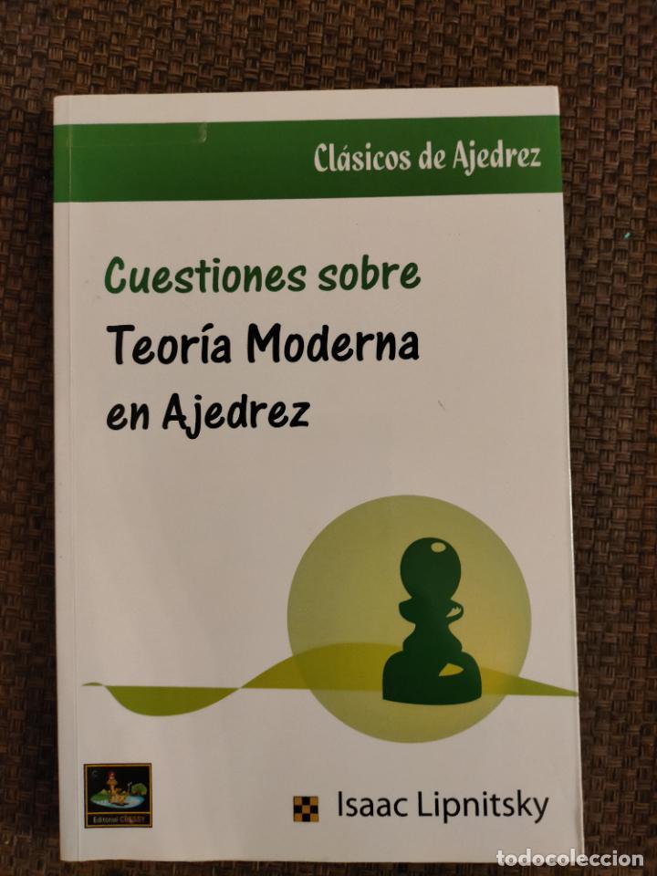 TEORIA MODERNA EN AJEDREZ CHESSY AJEDREZ (Coleccionismo Deportivo - Libros de Ajedrez)