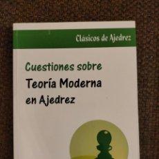 Coleccionismo deportivo: TEORIA MODERNA EN AJEDREZ CHESSY AJEDREZ. Lote 236079130