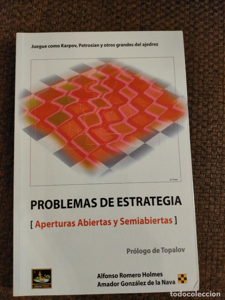 PROBLEMAS DE ESTRATEGIA CHESSY AJEDREZ (Coleccionismo Deportivo - Libros de Ajedrez)