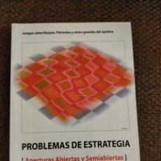 Coleccionismo deportivo: PROBLEMAS DE ESTRATEGIA CHESSY AJEDREZ. Lote 236079320
