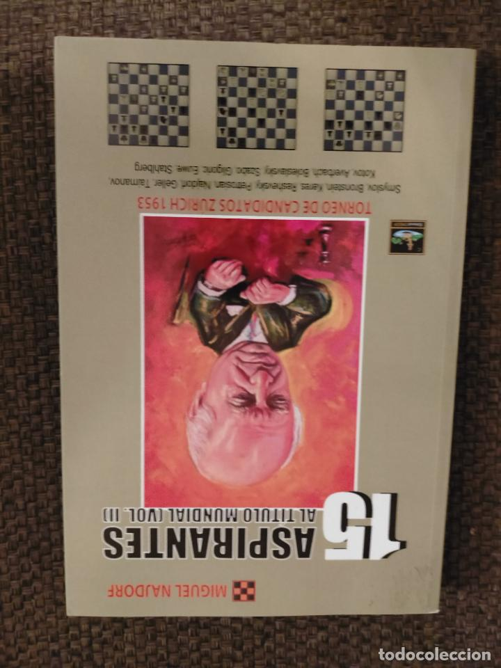 15 ASPIRANTES II NAJDORF CHESSY AJEDREZ (Coleccionismo Deportivo - Libros de Ajedrez)