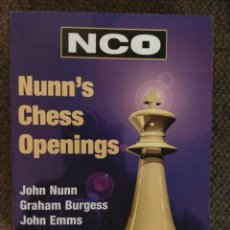 Coleccionismo deportivo: NUUN'S CHESS OPENINGS AJEDREZ. Lote 236080430