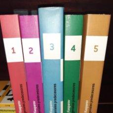 Coleccionismo deportivo: MIS GENIALES PREDECESORES 5 TOMOS KASPÁROV. MERA AJEDREZ N. Lote 237582880