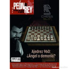 Coleccionismo deportivo: AJEDREZ. CHESS. REVISTA PEÓN DE REY 149 NOVIEMBRE - DICIEMBRE 2020. Lote 240168540