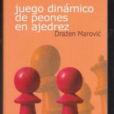 Collectionnisme sportif: JUEGO DINÁMICO DE PEONES EN AJEDREZ - DRAZEN MAROVIC. Lote 240540855