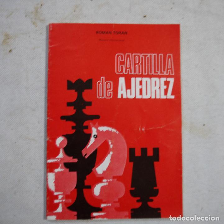 CARTILLA DE AJEDREZ - ROMAN TORAN - 1978 (Coleccionismo Deportivo - Libros de Ajedrez)