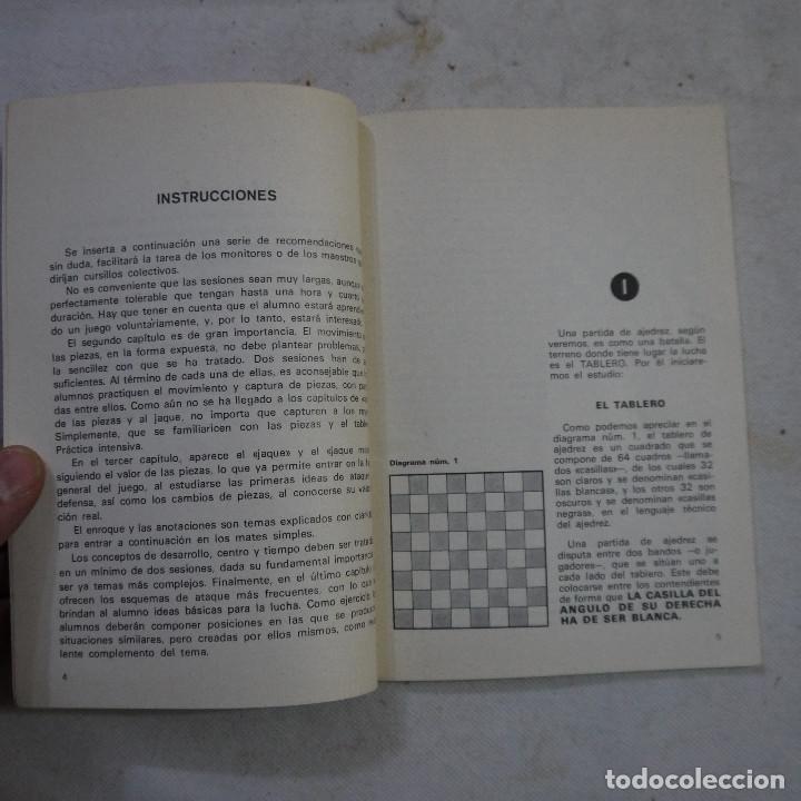 Coleccionismo deportivo: CARTILLA DE AJEDREZ - ROMAN TORAN - 1978 - Foto 3 - 245362905