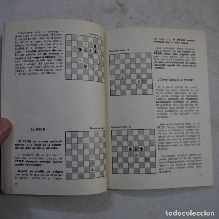 Coleccionismo deportivo: CARTILLA DE AJEDREZ - ROMAN TORAN - 1978 - Foto 4 - 245362905