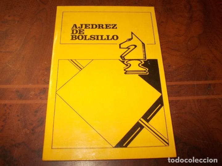 AJEDREZ DE BOLSILLO (Coleccionismo Deportivo - Libros de Ajedrez)