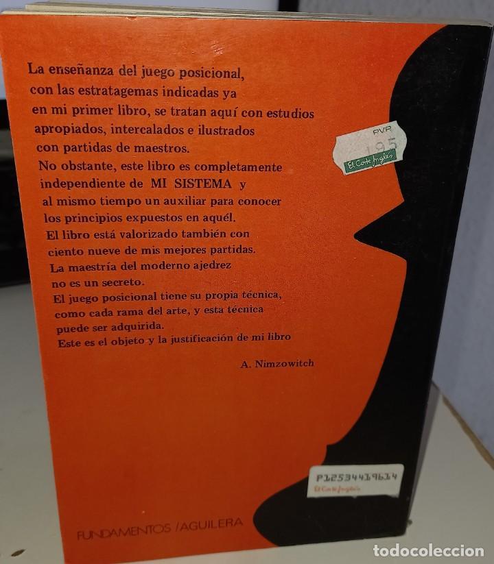 Coleccionismo deportivo: LA PRÁCTICA DE MI SISTEMA - NIMZOWITCH - Foto 2 - 246086065