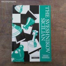 Coleccionismo deportivo: MIKHAIL KRASENKOV - SVESHNIKOV SICILIAN (CADOGAN CHESS BOOKS) (INGLÉS) 1996. Lote 247483655