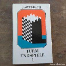 Coleccionismo deportivo: JURI AWERBACH - TURM SPIEGEL I (ALEMÁN) TAPA DURA – 1988. Lote 247492565
