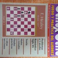 Coleccionismo deportivo: REVISTA AJEDREZ OCHO POR OCHO ESPECIAL JUEGO Y PRÁCTICA DEL AJEDREZ Nº 74. Lote 247543325
