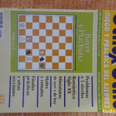Coleccionismo deportivo: REVISTA AJEDREZ OCHO POR OCHO ESPECIAL JUEGO Y PRÁCTICA DEL AJEDREZ Nº 75. Lote 247543380