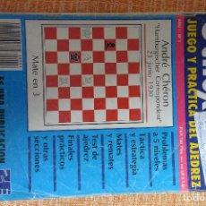Coleccionismo deportivo: REVISTA AJEDREZ OCHO POR OCHO ESPECIAL JUEGO Y PRÁCTICA DEL AJEDREZ Nº 3. Lote 247545500