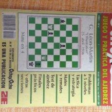 Coleccionismo deportivo: REVISTA AJEDREZ OCHO POR OCHO ESPECIAL JUEGO Y PRÁCTICA DEL AJEDREZ Nº 4. Lote 247545815