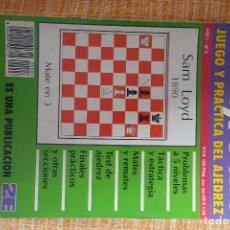 Coleccionismo deportivo: REVISTA AJEDREZ OCHO POR OCHO ESPECIAL JUEGO Y PRÁCTICA DEL AJEDREZ Nº 6. Lote 247545890