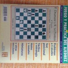 Coleccionismo deportivo: REVISTA AJEDREZ OCHO POR OCHO ESPECIAL JUEGO Y PRÁCTICA DEL AJEDREZ Nº 62. Lote 247547505