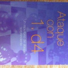 Coleccionismo deportivo: LIBRO AJEDREZ: ATAQUE CON 1. D4 (DUNNINGTON). Lote 247556170
