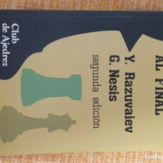 Collezionismo sportivo: LIBRO AJEDREZ: EL PASO AL FINAL (RAZUVAIEV-NESIS). Lote 247563460