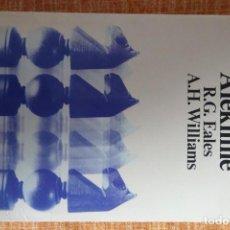 Coleccionismo deportivo: LIBRO AJEDREZ: LA DEFENSA ALEKHINE (EALES-WILLIAMS). Lote 247573260