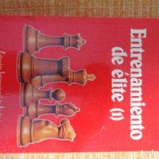 Coleccionismo deportivo: LIBRO AJEDREZ: ENTRENAMIENTO DE ÉLITE (I) DVORETSKY-YUSUPOV. Lote 247574265