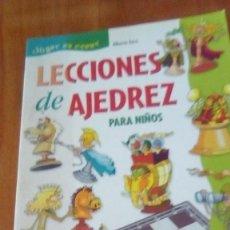 Coleccionismo deportivo: LECCIONES DE AJEDREZ PARA NIÑOS - TURCI, ALBERTO. Lote 253811405