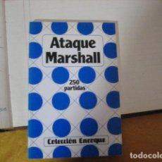 Coleccionismo deportivo: ATAQUE MARSHALL- 250 PARTIDAS. COLECCION ENROQUE.. Lote 254334115