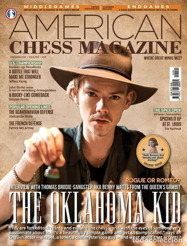 AJEDREZ. AMERICAN CHESS MAGAZINE ISSUE 20 (Coleccionismo Deportivo - Libros de Ajedrez)