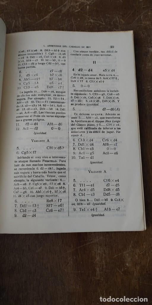 Coleccionismo deportivo: Manual de ajedrez, José paluzie, pymy 105 - Foto 2 - 259929185