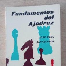 Collectionnisme sportif: FUNDAMENTOS DEL AJEDREZ JOSÉ RAÚL CAPABLANCA 1972. Lote 260711240