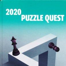 Coleccionismo deportivo: AJEDREZ. CHESS. PUZZLE QUEST 2020 - IVAN IVANISEVIC (CARTONÉ). Lote 261786820