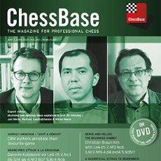 Coleccionismo deportivo: AJEDREZ. CHESS. CHESSBASE MAGAZINE 201 - MAY-JUNE 2021 (PC-DVD). Lote 261791950