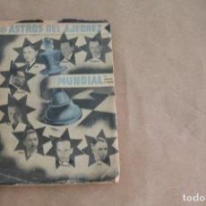Collezionismo sportivo: 8 ASTROS DEL AJEDREZ MUNDIAL , POR ARNOLDO ELLERMAN, AÑO 1944, EDITORIAL GRABO, BUENOS AIRES. Lote 268410269
