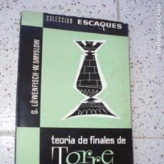 Coleccionismo deportivo: LIBRO DE AJEDREZ. Lote 268961654