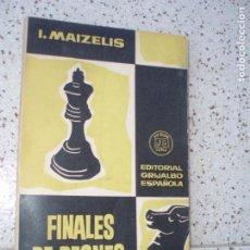 Coleccionismo deportivo: LIBRO DE AJEDREZ. Lote 268961899