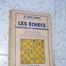Colecionismo desportivo: LIBRO DE AJEDREZ. Lote 268962289