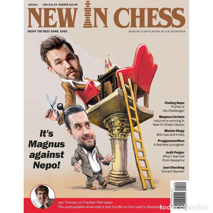 AJEDREZ. REVISTA. MAGAZINE NEW IN CHESS 2021-4 - THE NIC EDITORIAL TEAM (Coleccionismo Deportivo - Libros de Ajedrez)