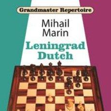 Coleccionismo deportivo: AJEDREZ. CHESS. GRANDMASTER REPERTOIRE. LENINGRAD DUTCH - MIHAIL MARIN (CARTONÉ). Lote 269743673