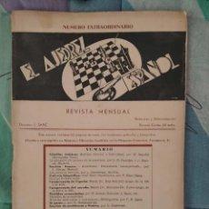 Coleccionismo deportivo: AJEDREZ REVISTA EL AJEDREZ ESPAÑOL 1935 , NUMERO 14-15. Lote 276161673