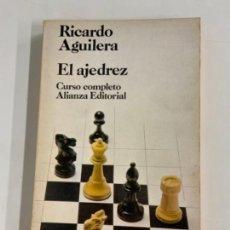 Coleccionismo deportivo: EL AJEDREZ - RICARDO AGUILERA. Lote 277710303