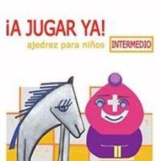 Coleccionismo deportivo: CHESS. AJEDREZ PARA NIÑOS. ¡A JUGAR YA! INTERMEDIO - CARLOS GARCÍA PALERMO/MARCOS DE ANNA. Lote 277830373