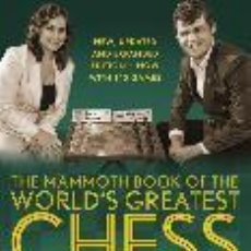 Colecionismo desportivo: AJEDREZ. THE MAMMOTH BOOK OF THE WORD'S GREATEST CHESS GAMES - SO/ADAMS/BURGESS/NUNN/EMMS. Lote 278468288