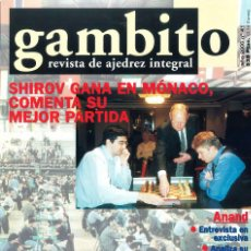 Coleccionismo deportivo: AJEDREZ. REVISTA GAMBITO 41 2000. Lote 280108353