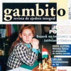 Coleccionismo deportivo: AJEDREZ. REVISTA GAMBITO 42 2000. Lote 280108418