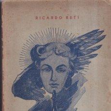 Coleccionismo deportivo: FINALES EN AJEDREZ, ESTUDIOS COMPLETOS - RICARDO RETI - EDITORIAL GRABO 1953. Lote 280529058